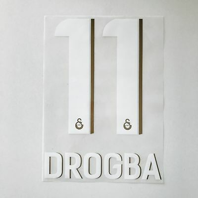 Galatasaray 13-14 Home Drogba UCL name set player issue
