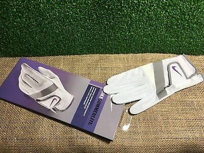 Ladies Nike Summerlite Golf Glove, Left Hand Fit for a Right Handed Golfer, NEW