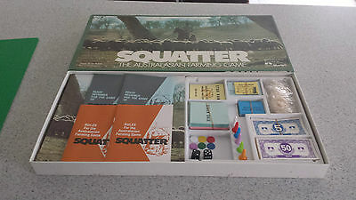 Squatter The Australian Farming Board Game By Murfett Complete in Ex. Cond