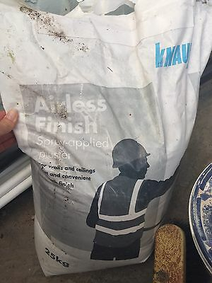 Knauf Airless Finish Spray Plaster