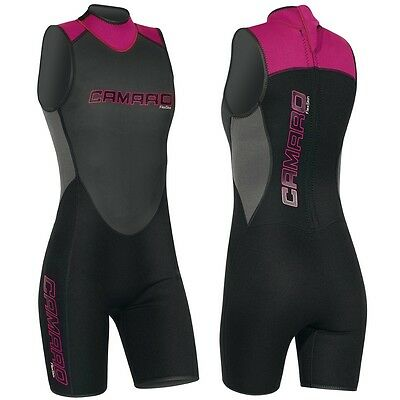 CAMARO Flex Skin Bermuda Ladies Neoprene Shorty Neoprene Suit