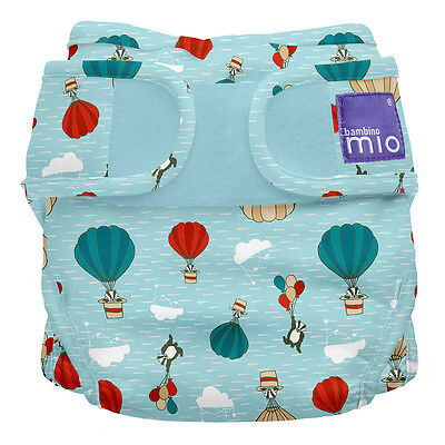 NEW Bambino Mio Miosoft Nappy Cover, 2 Sizes, Prints, Wrap for Cloth Nappies
