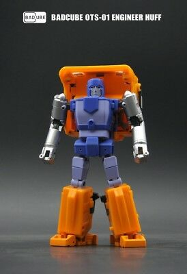 New BadCube Toy Transformers BC OTS-01 Engineer Huff Huffer Figure In Stock