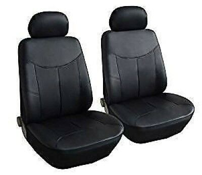 NISSAN LEAF Front Pair of Luxury KNIGHTSBRIDGE LEATHER LOOK Car Seat Covers