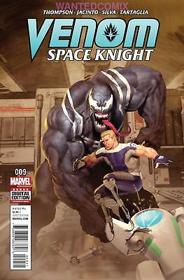 Venom Space Knight #9  Marvel 2016 1st print New ship in T-folder