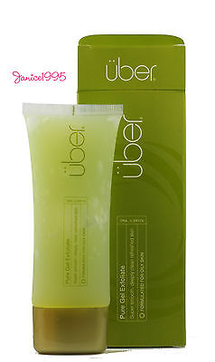UBER Pure Gel Exfoliate Gel For The Face and Body 70mL OILY Skin