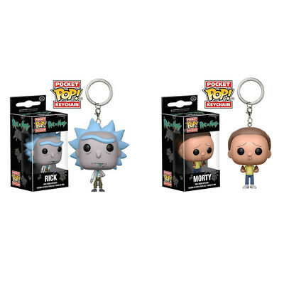 Rick and Morty Toys Figurine - Weaponized Rick Pop Vinyl Figure Key Chain Ring