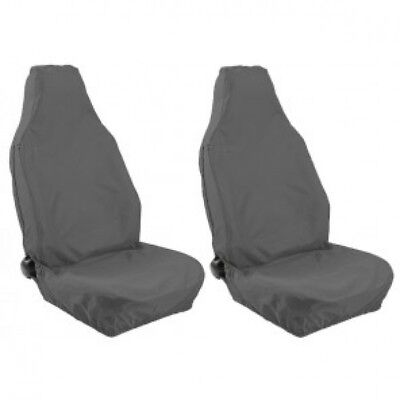 FORD KUGA FRONT GREY HEAVY DUTY PAIR CAR SEAT COVER SET 08-12