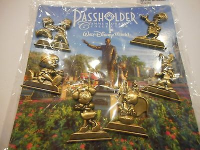 Passholder Commemorative Collection Lot Of 6 Disney Pins *****NEW*****
