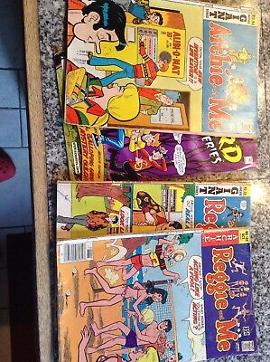 Collectable Vintage Lot Of 13 Mixed Comic Books Archie, Pop Eye, Disney And More