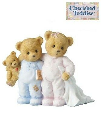 CHERISHED TEDDIES SHEILIA & JOHN, 2014 CLUB MEMBER EXCLUSIVE, CT1402, NEW in BOX