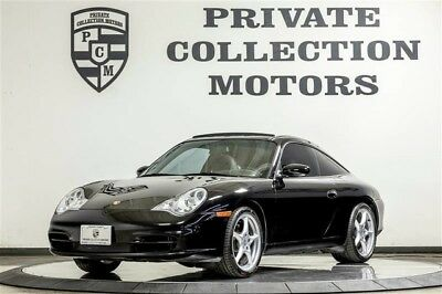 2002 Porsche 911 Targa Coupe 2-Door 2002 Porsche 911 Targa 2 Owner Clean Carfax Low Miles Well Kept