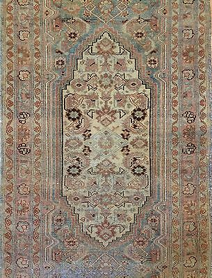 Majestic Malayer - 1900s Antique Tribal Rug - Persian Runner - 2.11 x 10.3 ft.