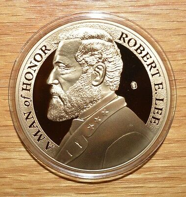2011 Proof -Robert E. Lee Career Army Officer Commemorative Coin