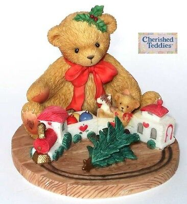CHERISHED TEDDIES, TERRY, 865095, CHRISTMAS / HOLIDAY, 2001, RETIRED, New In Box