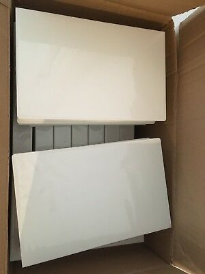 50 Pcs Empty White VHS Video Tape Storage Case Box