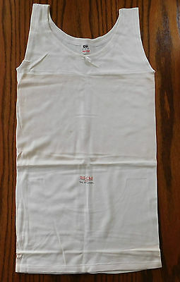 CC41 childs underwear sleeveless vest Vintage 1940s Nil Chil UNUSED shop soiled