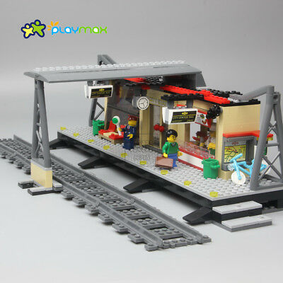 Train Series :02015 Train Station 456 PCS 60050