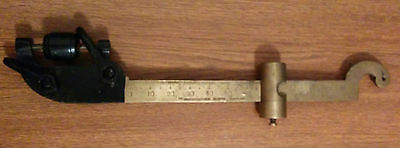Antique Brass beam scale Burrow Stewart & Milne Co. Hamilton Ontario