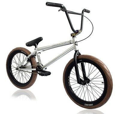 "VANDALS SKULLS 2018 GUM BMX BIKE 20"" Black Jet Fuel Shipping UK/Europe!"
