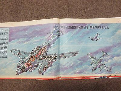 eagle comic cutaway messerscmidt 262