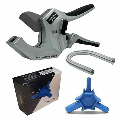 Automatic Ratchet Pipe Cutter External Pipe Bender Reamer Tools Set