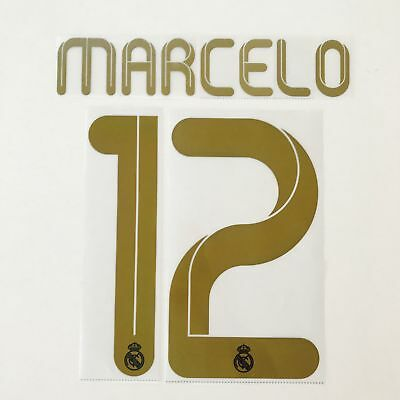 Real Madrid 11-12 Home Marcelo name set SportingID player issue