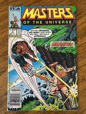 Masters of the Universe (Marvel/Star Comics) He-Man July 1987 #8 Mosquitor!