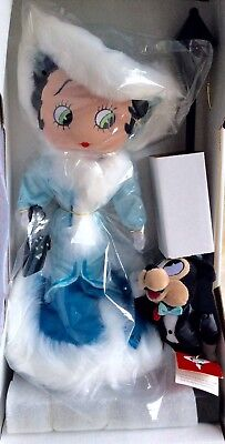 "Betty Boop ""stepping Out"" Doll Mib"