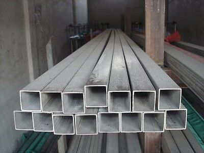 Galvanised Steel Square Tube/Fencing Post 6m* 40mm*40mm, 2mm thick, $26/each