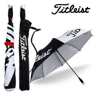 Titleist Golf Folding Umbrella TA4ACFUB 01 Black Authentic