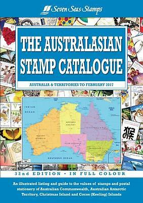 *NEW* 2017 32nd Edition Seven Seas Australasian Stamp Catalogue