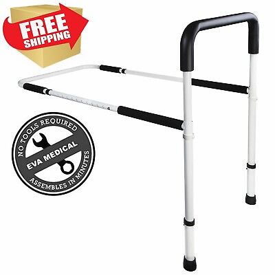 Medical Adjustable Home Bed Rail Handle and Guard Assist Bar for Adults Seniors