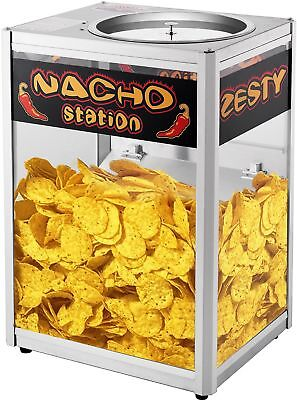 Great Northern Commercial Grade Nacho Chip Warming Station Counter Top Warmer