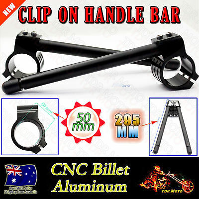 50 mm CNC Clip-On Handlebar For Yamaha YZF R6 R6S R1 FZ1 FZ6 YZF750R BJ-COHB-050