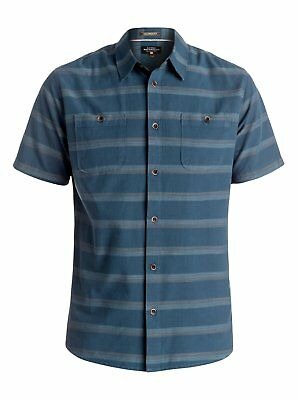 Quiksilver™ Waterman St Vincent - Short Sleeve Shirt - Men - XXL - Blue