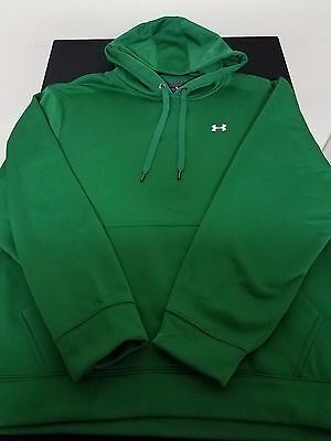 New Men's Under Armour UA Storm Green Loose Pullover Hoodie Size XLarge