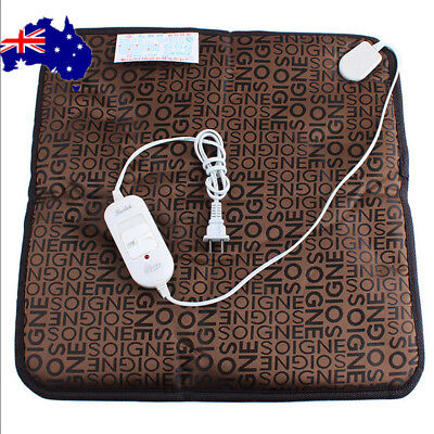2019 Pet Electric Heat Heated Heating Pad Mat Blanket Bed Dog Cat Bunny ON