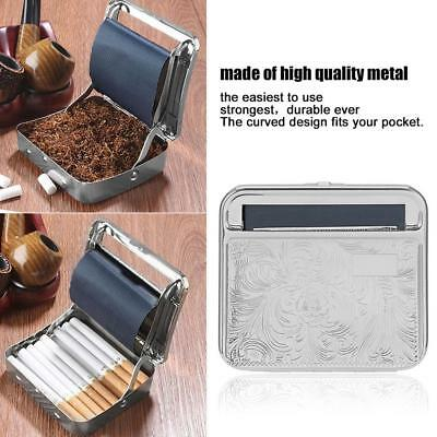 Automatic Rolling Machine Tin Box Metal Roller Cigarette Tobacco Roll Up Hot GD