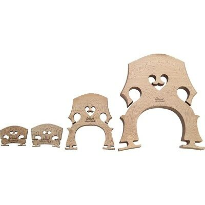 The String Centre Aubert Adjustable Violin Bridge 4/4 Low