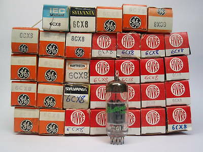 6Cx8 Tube. Mixed Brands. Nos / Nib. Rcb29/b212/b282
