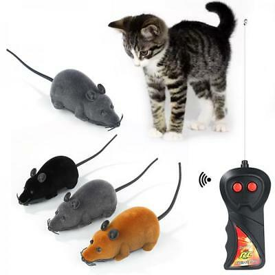 Wireless Remote Control RC Electronic Rat Mouse Mice Toy For Cat Puppy Gift PK0F
