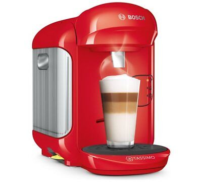 Tassimo by Bosch Vivy 2 Hot Drinks Machine, T14 - Red