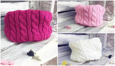 Kids Girl Knitted Winter Warm Neck Scarf Shawl Cowl Snood ONE SIZE GL-22