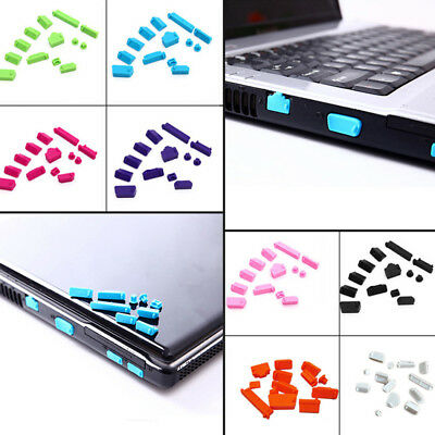 26Pcs/set Silicone Anti Dust Plug Cover Laptop dust plug Computer Accessories