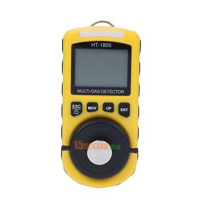 NEW Ht-1805 4in1 Detector Portable Tester Density Poisonous Harmful Gas Monitor