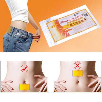 100pcs Slimming Patch Diet Slim Fast Weight Loss Effective Burn Fat Adhesive Pad