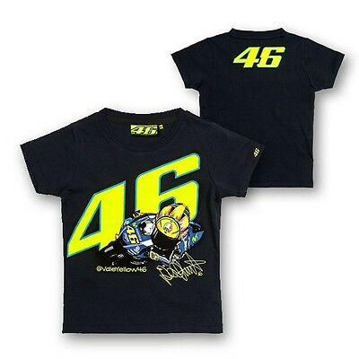 New Official Valentino Rossi VR46 Kids T'Shirt - VRKTS 150702