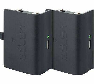 VENOM Xbox One Twin Rechargeable Battery Packs - Black - Currys