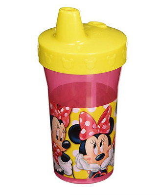 Sippy Cup Minnie Mouse Disney First Years Baby Cups Pink Toddler Spout Cups New